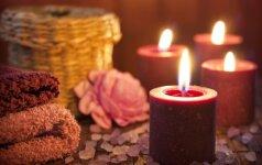 Kaip žvakių pagalba sukurti jaukesnę atmosferą namuose?