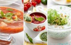 Alternatyva šaltibarščiams: 3 gaivių sriubų receptai