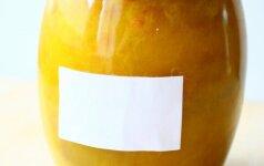 Kaip nuo stiklainio ar kito indo ar daikto nuvalyti etiketę ir jos paliktus klijus?