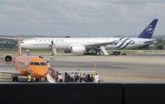 """""""Air France"""" laineris nutupdytas dėl pelės"""