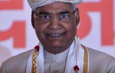 Indijos prezidentu išrinktas žemiausios hinduistų kastos atstovas
