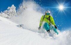 Kad atostogos nesibaigtų ašaromis: 3 patarimai vykstantiems slidinėti