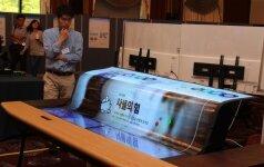 """""""LG Display"""" pristatė didelį permatomą ekraną"""