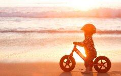 """""""Pypliukas: kaip išsirinkti dviratuką ir suteikti pirmąją pagalbą?"""