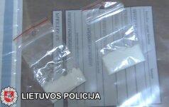 Kokaino pirkėjas atsipirko bauda, o pardavėjui skirtas įkalinimas