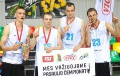Lietuvių trijulių rinktinei – Europos čempionato bronza