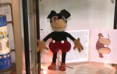 Aukcione bus parduodas vienas pirmųjų Peliukas Mikis ir kiti W. Disney daiktai