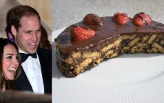 """Beprotiškai skanus """"Tinginio"""" tortas, kurio per savo vestuves pageidavo pats princas Williamas"""