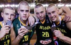 Sidabrinėje Lietuvos jaunučių krepšinio rinktinėje – keturi RKL žaidėjai