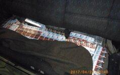 """Nusikaltėlių kruopštumas: net sunku patikėti, kiek telpa į nediduką """"VW Golf"""""""