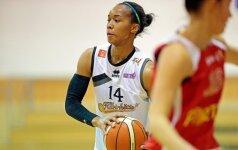 """NBA žaidėjų sesuo Sh. Landry grįžta į """"Kibirkšties"""" komandą"""