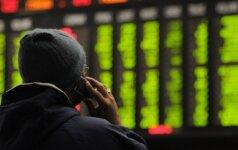 Europos akcijų rinkos pasižymėjo intensyvesniu teigiamu vertės šuoliu