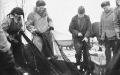 Kokie žvejybos laimikiai buvo prieš 50 metų?