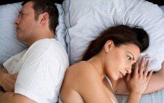 Kodėl kartais norisi išsiskirti su savo mylima žmona?
