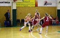 """""""Utenos"""" krepšininkėms nepavyko išplėšti pergalės Marijampolėje"""