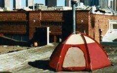 Stovyklavimas gamtoje neiškeliant kojos iš miesto – palapines galima statyti ir ant namų stogų