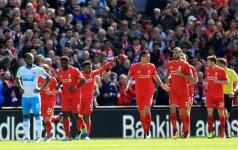 Liverpool  futbolininkai kovos pusfinalyje su Villarreal ekipa