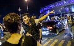 Teroro aktas Stambulo oro uoste