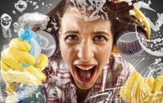Sprendimai, kaip atsisakyti cheminių valiklių: dažnai pakaks tik karšto vandens