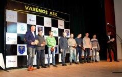 Greituminio slalomo čempionato uždarymas - apdovanojimai