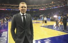 NBA klube save atradęs lietuvis – apie darbą su A. Karnišovu, pokalbį su D. Sternu ir tautiečių medžioklę