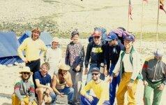 Nežinoma pirmoji lietuvių ekspedicija į Everestą