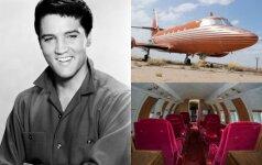 E. Presley lėktuvas