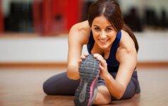 Mankštos, kurios padės ir svorio numesti, ir kūnui atsipalaiduoti