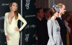 Kuri būsima mama stilingesnė: Kembridžo hercogienė Catherine ar aktorė Blake Lively FOTO