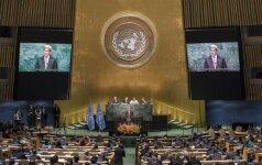 Ženevoje atnaujinamos JT remiamos derybos dėl taikos Sirijoje