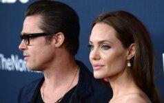 Drama tęsiasi: biografas atskleidė tikruosius ir labai nešvarius A. Jolie noro skirtis motyvus