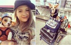 Lenktynininkė išgelbėjo šunį nuo eutanazijos: šiandien visur keliauja kartu