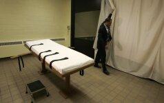 Gyventojų parama mirties bausmei JAV – istoriškai maža