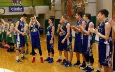 Ir Vilnių, ir Kauną pranokę Mažeikių krepšininkai laimėjo Lietuvos U15 čempionatą