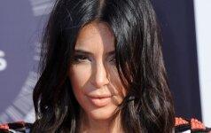 Kim Kardashian pasidalijo pirmąja sūnaus nuotrauka