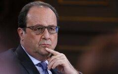 """F. Hollande'as: jei Th. May nori kieto """"Brexit"""", tai ir derybos bus kietos"""