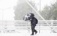 Orai: atpūs šaltį, po to – sniegą