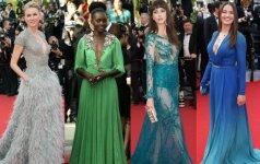 Įspūdingiausios Kanų kino festivalio suknelės FOTO
