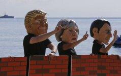 """Pasaulio merai ragina G-20 lyderius """"gelbėti planetą"""""""