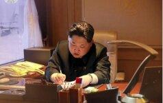 Šiaurės Korėjos didelio nuotolio raketos paleidimas