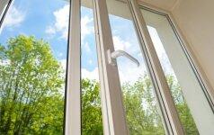 Pasidaryk pats: naminis langų valymo skystis