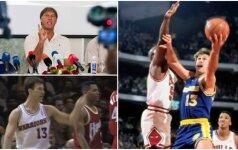 Nelegalus šaukimas, suplėšyta sutartis ir užkulisinės intrigos: kaip į NBA žengė pirmasis lietuvis