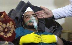 Žodžių karas: Rusija pasmerkė JAV kaltinimus, neva B. al Assadas ruošiasi surengti dar vieną cheminę ataką