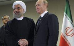 Hassanas Rouhani, Vladimiras Putinas