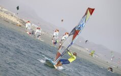Vėjų nugairinta Fuerteventūra – vandens sporto entuziastams ir ieškantiems baltų paplūdimių