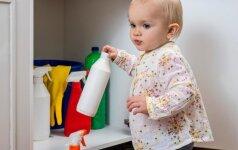 Kodėl gimus vaikui kenksminga yra valyti namus du kartus per dieną