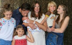Jamie Oliveris su šeima