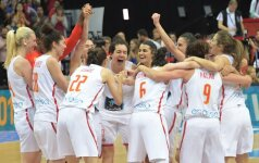 Europos čempionių karūna – Ispanijos krepšininkėms