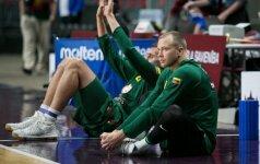Liūdna žinia: L. Lekavičius dėl traumos priverstas praleisti Europos čempionatą