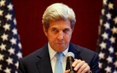 J. Kerry įspėja Š. Korėją: gresia pasekmės